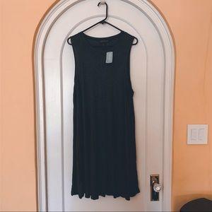 Charcoal shift dress 3x